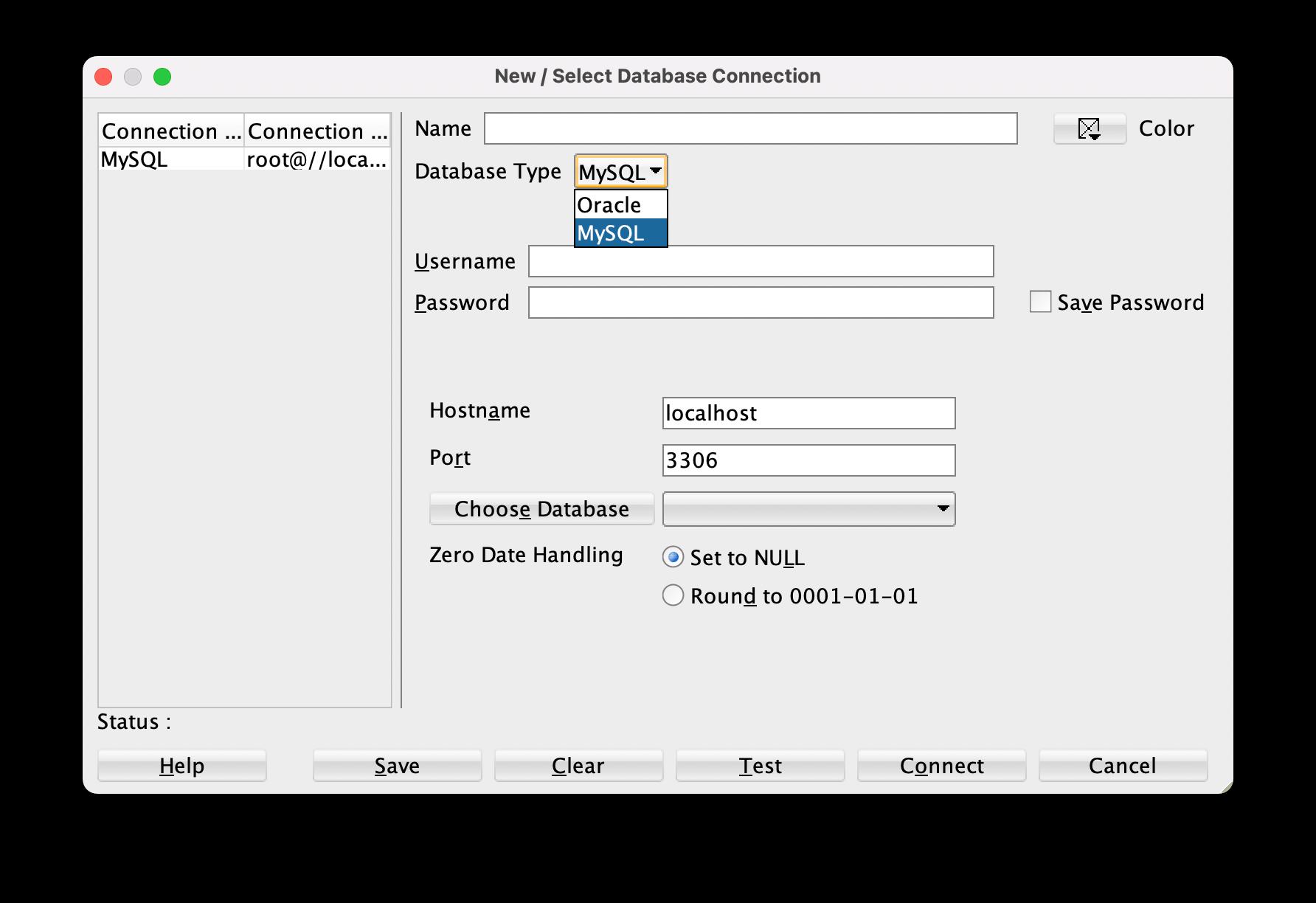 database-type