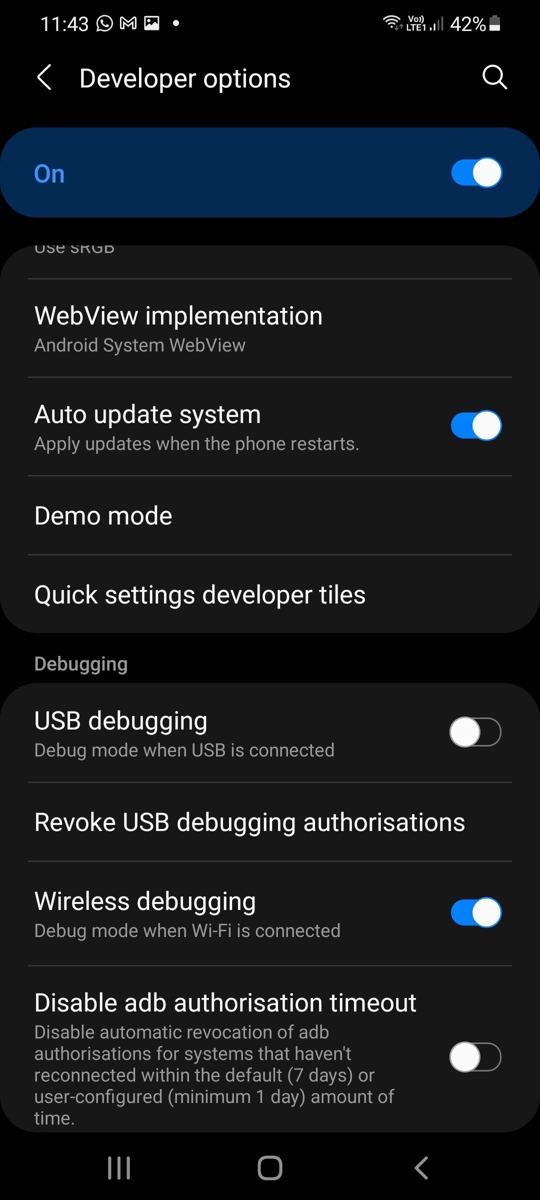 WirelessDebuggingSetting